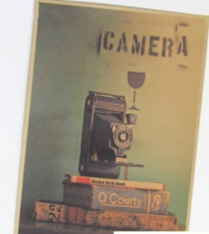 "Juliste ""Vintage Very Old Camera"" 42 x 30cm"
