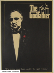 Juliste I Am Going To Make Him An Offer He Can't Refuse, 42 x 29cm